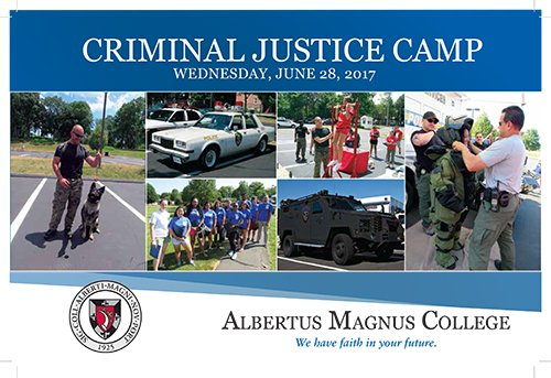 Image result for albertus magnus college criminal justice camp 2017